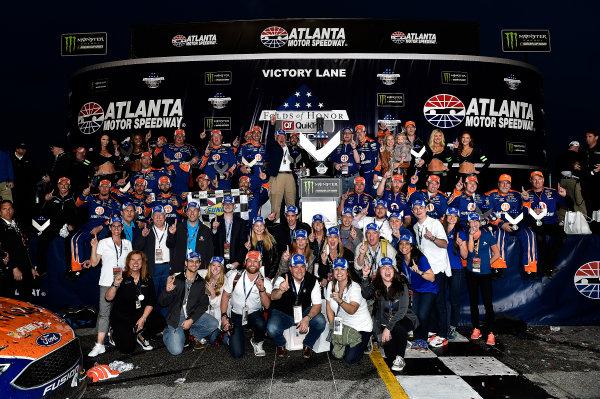 2017 Monster Energy NASCAR Cup Series - Fold of Honor QuikTrip 500 Atlanta Motor Speedway, Hampton, GA USA Sunday 5 March 2017 Brad Keselowski World Copyright: Rusty Jarrett/LAT Images ref: Digital Image 17ATL1rj_2866