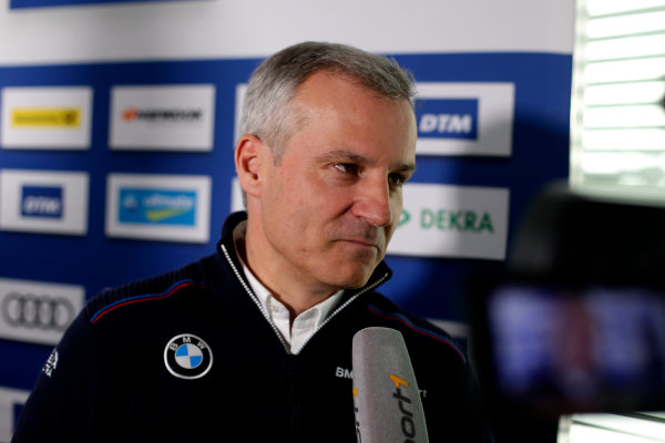 2017 DTM Testing & Media Day Hockenheim, Germany. Thursday 6 April 2017. Jens Marquardt, BMW Motorsport Director. World Copyright: Alexander Trienitz/LAT Images ref: Digital Image 2017-DTM-MD-HH-AT1-0154
