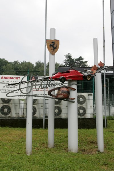 2007 Zandvoort Masters of Formula Three.Zolder, Belgium. 4th and 5th August 2007.The Gilles Villeneuve Memorial at Zolder.World Copyright: Hoyer/Ebrey/LAT Photographic