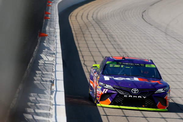 NASCAR XFINITY Series TheHouse.com 300 Chicagoland Speedway, Joliet, IL USA Friday 15 September 2017 Denny Hamlin, Joe Gibbs Racing, FedEx Office Toyota Camry World Copyright: Lesley Ann Miller LAT Images