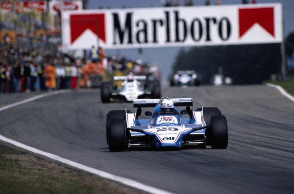 Didier Pironi, Ligier JS11/15 Ford.