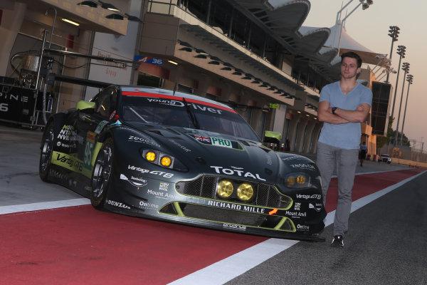 2016 FIA World Endurance Championship Rookie Test, Bahrain International Circuit, 20th November 2016, Jordan King (GBR) Aston Martin  World Copyright. Jakob Ebrey/LAT Photographic
