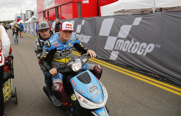 2016 MotoGP Championship.  British Grand Prix.  Silverstone, England. 2nd - 4th September 2016.  Jack Miller, Marc VDS Honda.  Ref: _W5_5543a. World copyright: Kevin Wood/LAT Photographic