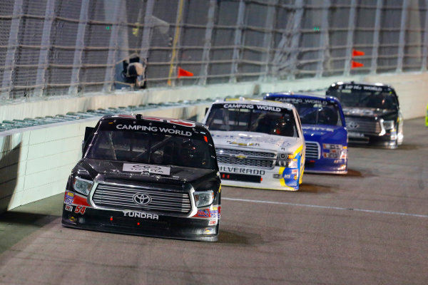 13-14 November, 2014, Homestead, Florida USA Darrell Wallace Jr and Brennan Newberry ? 2014, Russell LaBounty LAT Photo USA