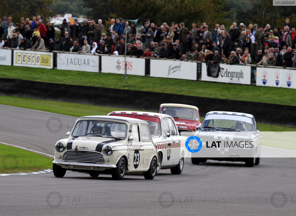 Goodwood Estate, West Sussex, 15th - 18th September 2011 St Mary's Trophy Race 2 Nick SWIFT, Morris Mini Cooper S. World Copyright:Jeff Bloxham/LAT Photographic Ref: Digital Image