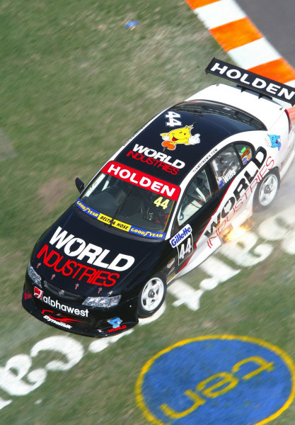2003 Australian V8 SupercarsSurfers Paradise, Australia. October 25th 2003. Simon Wills runs off the track at the Gillette V8 Supercar event at the Lexmark Indy 300 at the Sufer's Paradise street circuit.World Copyright: Mark Horsburgh/LAT Photographicref: Digital Image Only