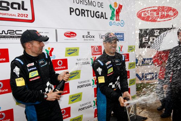 Round 04-Rally Portugal 28/3-1/4 2012. Dani Sordo, Mini WRC. PortraitWorldwide Copyright: McKlein/LAT