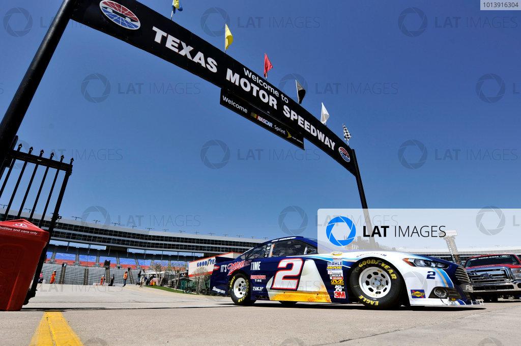 11-13 April, 2013, Fort Worth, Texas USA Brad Keselowski ©2013, Nigel Kinrade LAT Photo USA