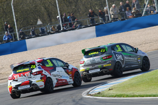 2016 Renault Clio Cup, Donington Park, 16th-17th April 2016, Paul Streather (GBR) Finesse Motorsport / Paul Streather Renault Clio Cup  World copyright. Jakob Ebrey/LAT Photographic