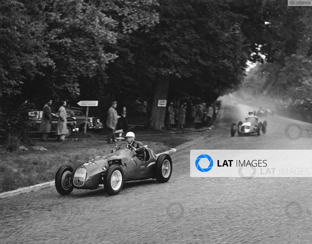 Bremgarten, Berne, Switzerland. 27th May 1951.