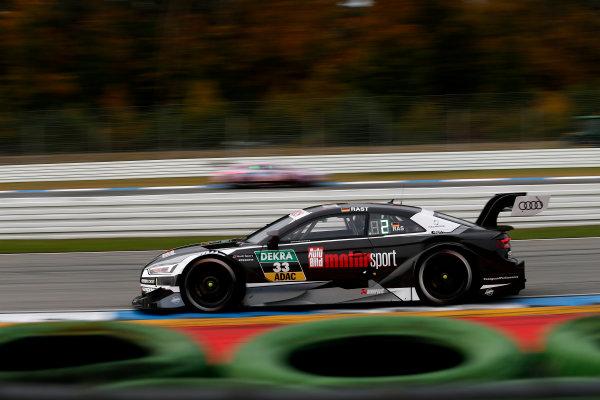 2017 DTM Round 9  Hockenheimring, Germany  Friday 13 October 2017. René Rast, Audi Sport Team Rosberg, Audi RS 5 DTM  World Copyright: Alexander Trienitz/LAT Images ref: Digital Image 2017-DTM-HH2-AT2-0366