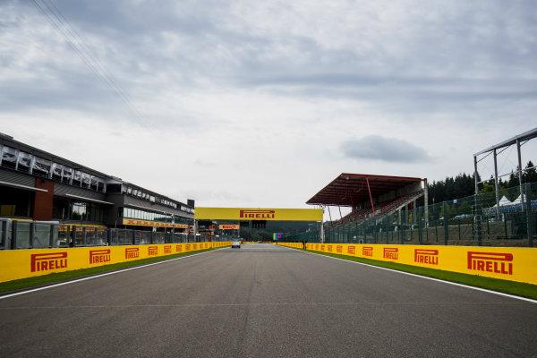 2017 FIA Formula 2 Round 8. Spa-Francorchamps, Spa, Belgium. Thursday 24 August 2017. A view of the track. Photo: Zak Mauger/FIA Formula 2. ref: Digital Image _54I9496