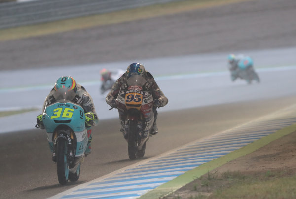 2017 Moto3 Championship - Round 15 Motegi, Japan. Sunday 15 October 2017 Joan Mir, Leopard Racing World Copyright: Gold and Goose / LAT Images ref: Digital Image 22674