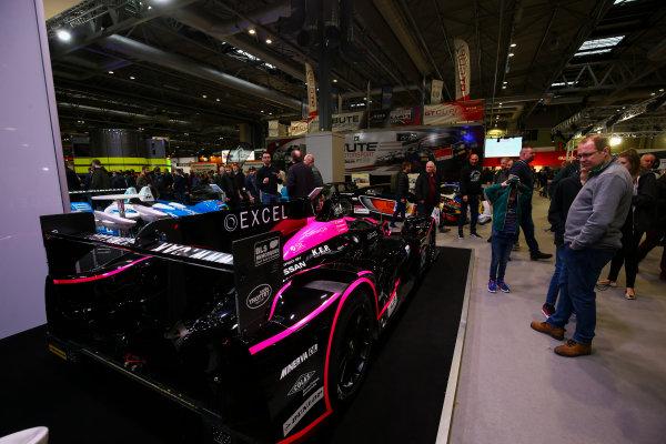 Autosport International Exhibition. National Exhibition Centre, Birmingham, UK. Sunday 14th January 2018. Le Mans cars on display.World Copyright: Mike Hoyer/JEP/LAT Images Ref: AQ2Y9835