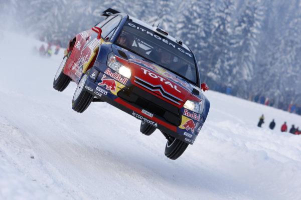 Round 02Rally Norway 12-15 February 2009Sebastien Loeb, Citroen, ActionWorldwide Copyright: McKlein/LAT