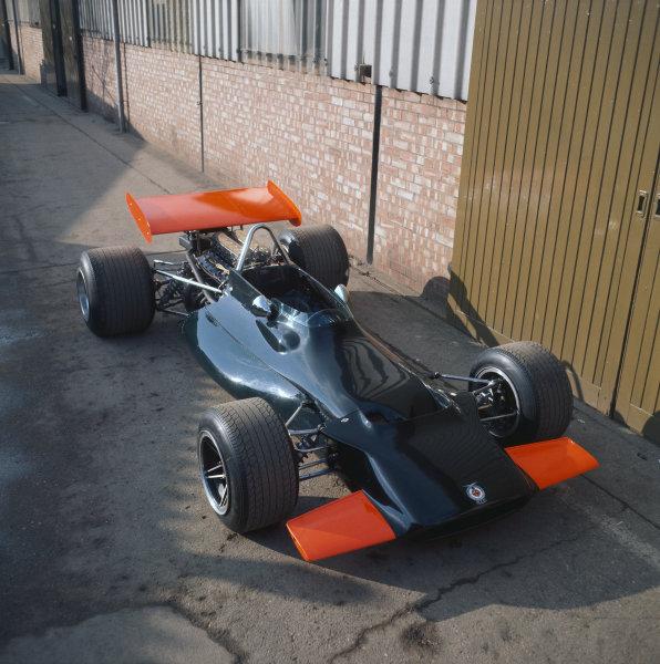 1970 BRM P153 Launch. World Copyright: LAT Photographic. Ref:  70MF F1 Misc 01.