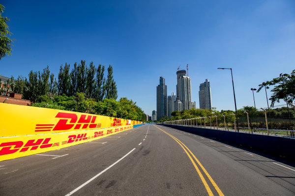 2016/2017 FIA Formula E Championship. Buenos Aires ePrix, Buenos Aires, Argentina. Friday 17 February 2017. A view of the track. Photo: Zak Mauger/LAT/Formula E ref: Digital Image _L0U8012