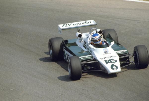 1982 Italian Grand Prix.Monza, Italy. 12 September 1982.Keke Rosberg (Williams FW08-Ford Cosworth).World Copyright:LAT Photographic