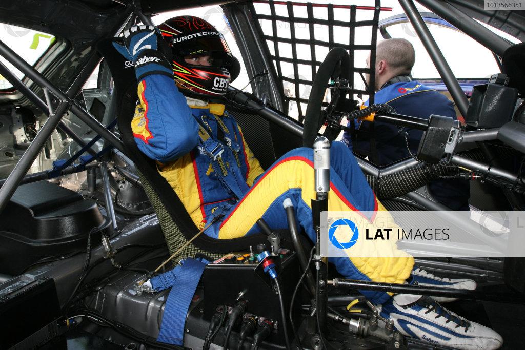 Silverstone, 24th March 2011Andrew Jordan (GBR) Pirtek Racing Vauxhall VectraWorld Copyright: Ebrey/LAT Photographic