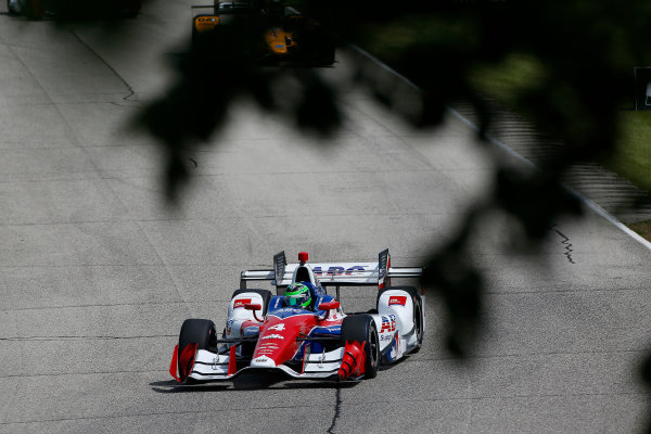 Verizon IndyCar Series Kohler Grand Prix Road America, Elkhart Lake, WI USA Friday 23 June 2017 Conor Daly, A.J. Foyt Enterprises Chevroletn World Copyright: Phillip Abbott LAT Images ref: Digital Image abbott_elkhart_0617_0279