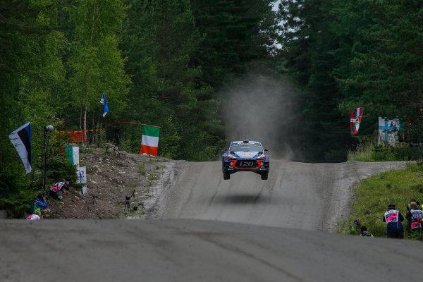 2017 FIA World Rally Championship, Round 09, Rally Finland / July 27 - 30, 2017, Thierry Neuville, Hyundai WRC, Action  Worldwide Copyright: McKlein/LAT