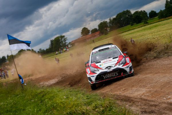 2017 FIA World Rally Championship, Round 08, Rally Poland / June 29 - July 2 2017, Juho Hanigen, Toyota, action, Worldwide Copyright: McKlein/LAT