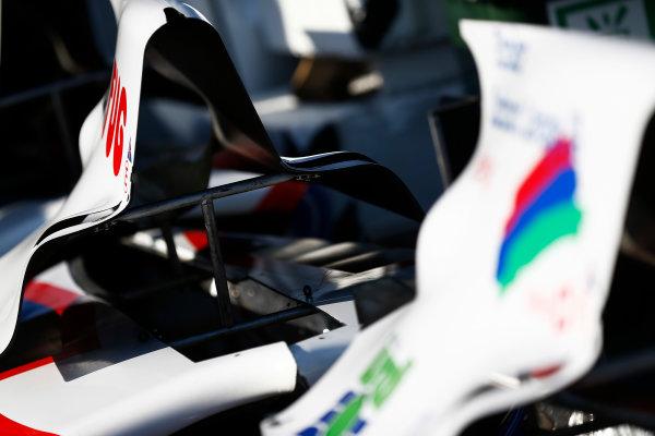 2014 GP3 Series. Round 8.   Sochi Autodrom, Sochi, Russia.  Thursday 9 October 2014. Body work of Jenzer Motorsport Photo: Sam Bloxham/GP3 Series Media Service. ref: Digital Image _SBL6178