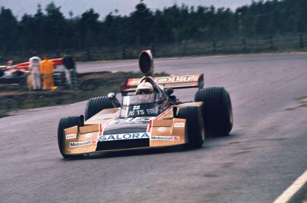 1974 Swedish Grand Prix  Anderstorp, Sweden. 7-9 June 1974.  Leo Kinnunen, Surtees TS16 Ford, retired.  Ref: 74SWE01. World Copyright: LAT Photographic