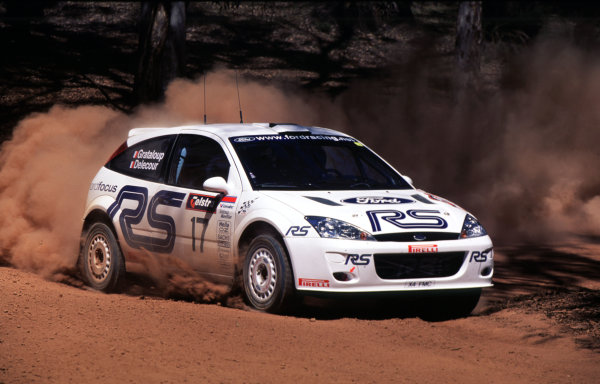 2001 World Rally ChampionshipRally Australia, WRC. 1st - 4th NovemberFrancois DelecourWorld Copyright - McKlein / LAT PhotographicRef: 35mm Image A12