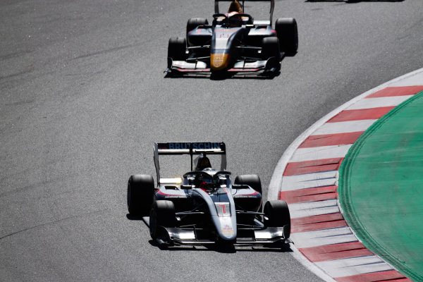 David Beckmann (DEU, ART Grand Prix) and Yuki Tsunoda (JPN, Jenzer Motorsport)