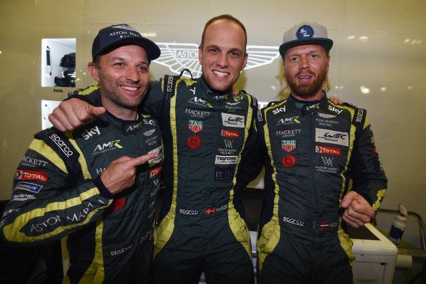 Polesitters #95 Aston Martin Racing Aston Martin Vantage AMR: Marco Sorensen, Nicki Thiim, Darren Turner