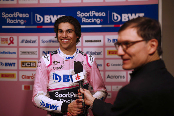 Lance Stroll, SportPesa Racing Point F1 Team during the SportPesa Racing Point F1 Team Launch in Toronto