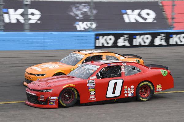 #0: Garrett Smithley, JD Motorsports, Chevrolet Camaro teamjdmotorsports.com, #52: David Starr, Means Motorsports, Chevrolet Camaro Whataburger