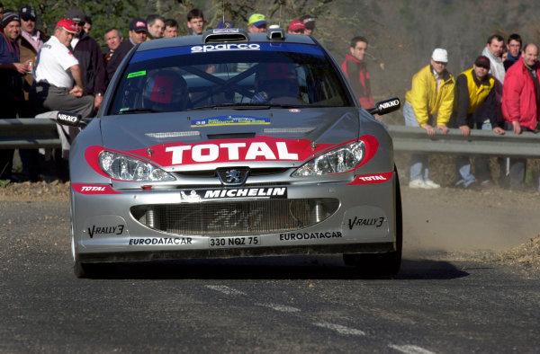 2002 World Rally ChampionshipRally Catalunya, 21st-24th March 2002.Richard Burns during shakedown.Photo: Ralph Hardwick/LAT