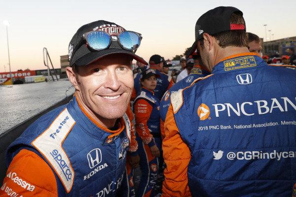 Champion Scott Dixon, Chip Ganassi Racing Honda