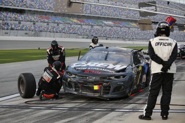 #7: Corey LaJoie, Spire Motorsports, Chevrolet Camaro Netflix
