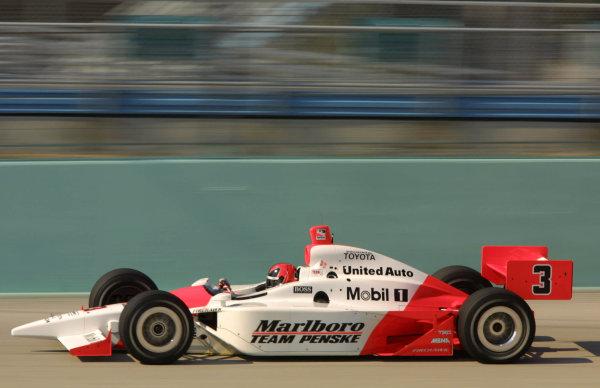 2003 IRL IndyCar Homestead, 2/28-3/2, 2003, Homestead Miami Speedway, USA.Helio Castroneves.Copyright: 2003 Phillip Abbott, USA.LAT Photographic.