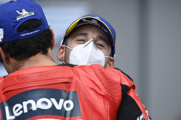 Pol Espargaro, Red Bull KTM Factory Racing, Danilo Petrucci, Ducati Team.