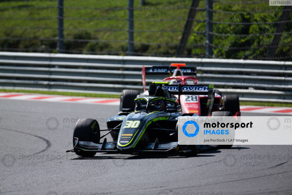 HUNGARORING, HUNGARY - AUGUST 04: Felipe Drugovich (BRA, Carlin Buzz Racing) during the Hungaroring at Hungaroring on August 04, 2019 in Hungaroring, Hungary. (Photo by Joe Portlock / LAT Images / FIA F3 Championship)