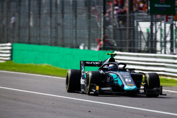 AUTODROMO NAZIONALE MONZA, ITALY - SEPTEMBER 08: Nicholas Latifi (CAN, DAMS) during the Monza at Autodromo Nazionale Monza on September 08, 2019 in Autodromo Nazionale Monza, Italy. (Photo by Joe Portlock / LAT Images / FIA F2 Championship)