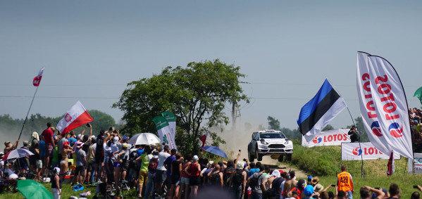 Ott Tanak (EST) / Raigo Molder (EST) Ford Fiesta RS WRC at FIA World Rally Championship, Rd7, Lotos 71st Rally Poland, Day Three, Mikolajki, Poland, Sunday 5 July 2015.