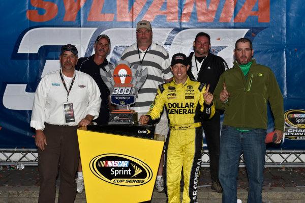 25-27 September, 2015, Loudon, New Hampshire USA Matt Kenseth, Dollar General Toyota Camry celebrates his win with in Victory Lane ? 2015, Nigel Kinrade LAT Photo USA