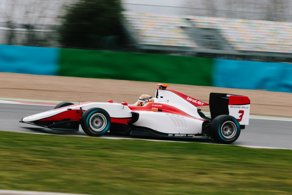 2016 GP3 Series Shakedown. Magny Cours, France. Thursday 3 March 2016  Charles Leclerc (MON) ART Grand Prix   World Copyright: Malcolm Griffiths/LAT Photographic. ref: Digital Image F80P9759