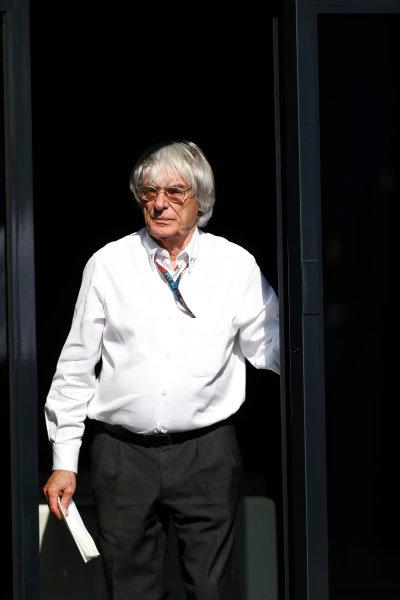 Nurburgring, Germany 6th July 2013 Bernie Ecclestone, CEO, FOM World Copyright: Charles Coates/  ref: Digital Image _N7T1323
