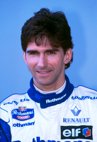 Albert Park, Melbourne, Australia.8-10 March 1996.Damon Hill (Williams Renault), 1st position, portrait.World Copyright - LAT Photographic