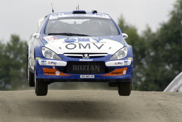 2006 FIA World Rally Champs. Round 6Rally Japan. 1st-3rd September 2006Manfred Stohl, Peugeot, actionWorld Copyright: McKlein/LAT