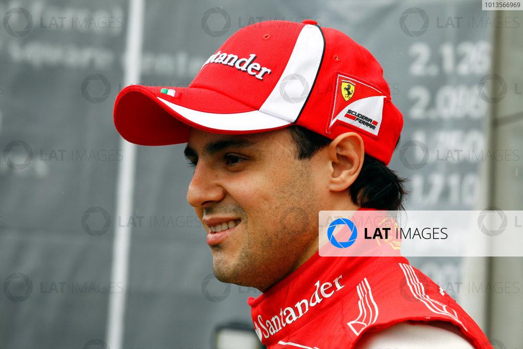 Albert Park, Melbourne, Australia 25th March 2011. Felipe Massa, Ferrari 150° Italia. Portrait.   World Copyright: Steven Tee/LAT Photographic ref: Digital Image _A8C2241
