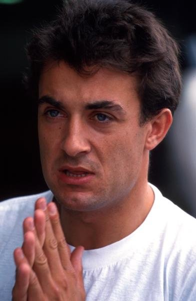 Jean Alesi (FRA) Ferrari finished seventh.