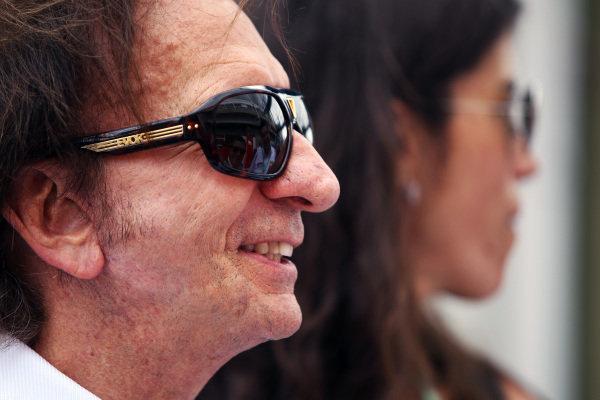 Emerson Fittipaldi (BRA). Formula One World Championship, Rd 19, Brazilian Grand Prix, Race Day, Interlagos, Sao Paulo, Brazil, Sunday 27 November 2011.