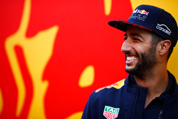 Hungaroring, Budapest, Hungary.  Thursday 27 July 2017. Daniel Ricciardo, Red Bull Racing. World Copyright: Andy Hone/LAT Images  ref: Digital Image _ONZ7716